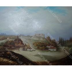 Картина украинское село