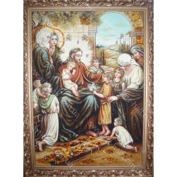 Ікона Ісус Христос Благословляє Дітей