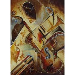 Картина Музичні інструменти