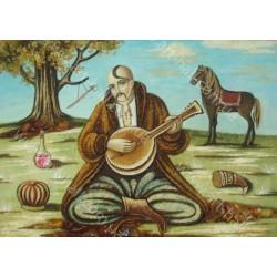 Народная картина Козак Мамай