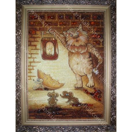 Картина Сказочный котёнок