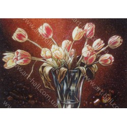Картина Тюльпаны в вазе