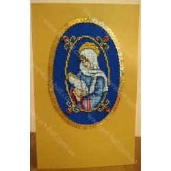 Открытка «Рождественская» ручной работы