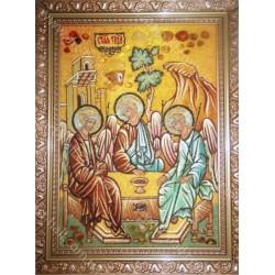 Икона «Святая Троица» Рублева