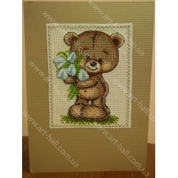 Листівка Ведмедик Тедді