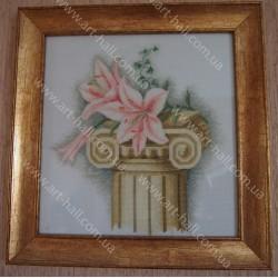 Картина «Лилия на колоне»