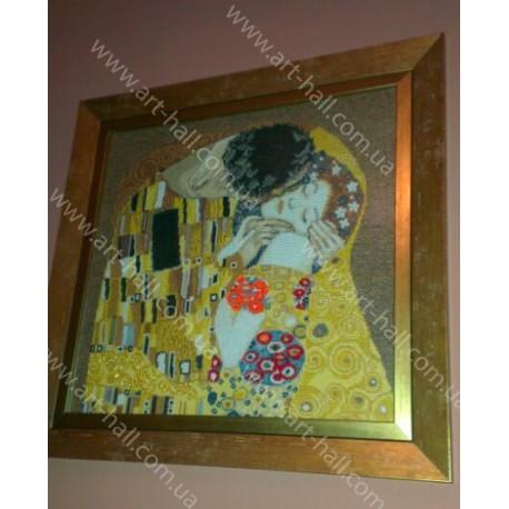 Картина «Поцелуй» ручной работы