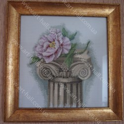 Картина «Роза на колоне»