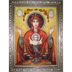 Икона Богородицы «Неупиваемая чаша»