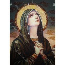 Икона Богородицы за молитвой